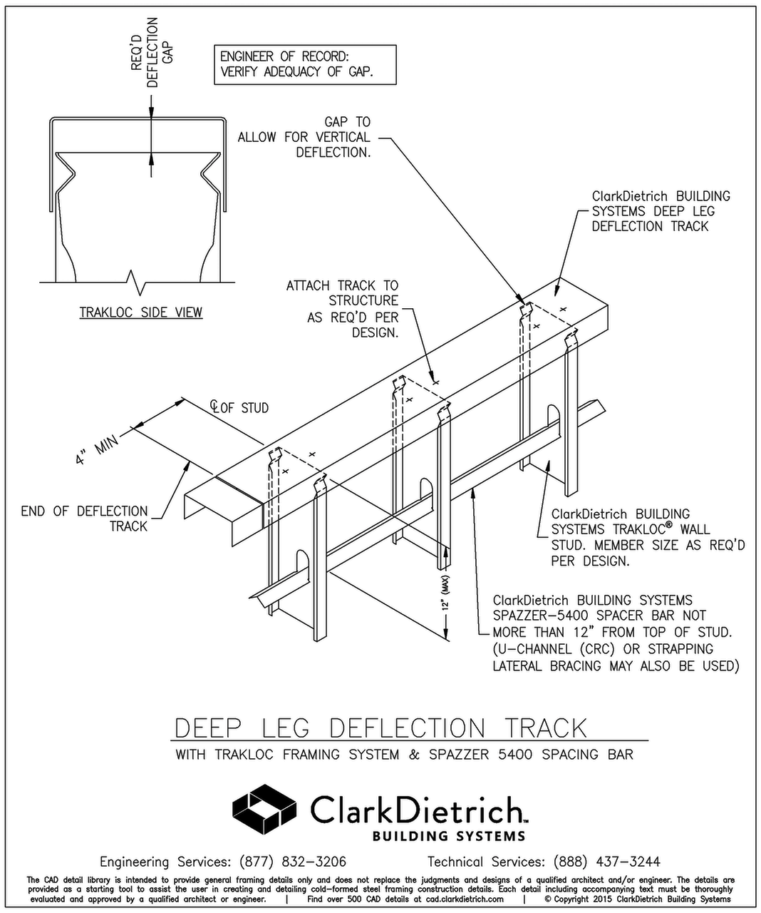 CAD Library | iTools ClarkDietrich com